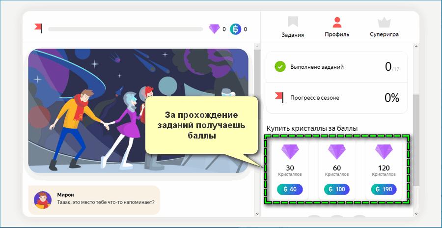 Акции Яндекс Денег