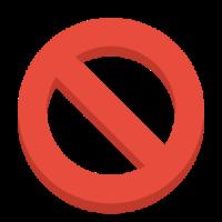 Иконка блокировка