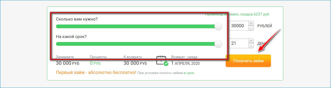 Оформление займа на электронный кошелек Киви