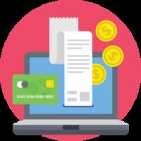 Иконка онлайн финансы