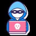 Иконка хакер