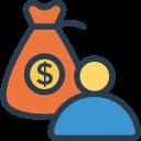 Иконка мешок денег