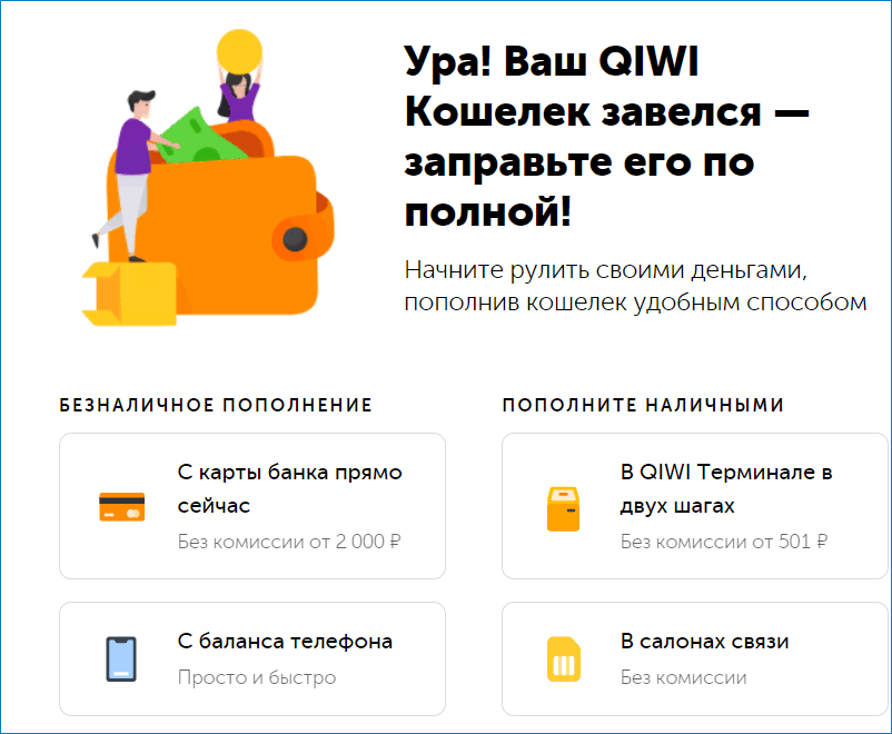 Интерфейс QIWI
