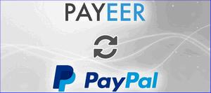 Перевод Payeer PayPal